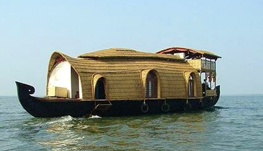 Experience Cruising The Kerala Backwaters Aboard 1-bedroom Houseboat In Alappuzha