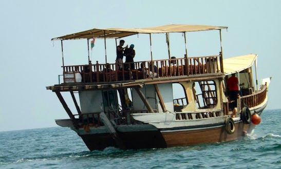 Private Dhow Boat Tours For 30 Person In Khasab, Oman