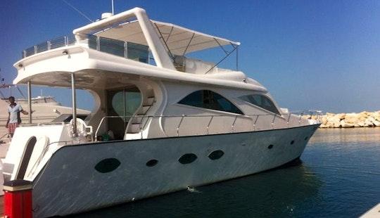 Charter 80ft Gulf Craft Power Mega Yacht In Dubai, Uae