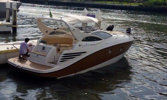 Charter An Armada 300m Cabrio Motor Yacht For 7 Person In Camboriú, Brazil