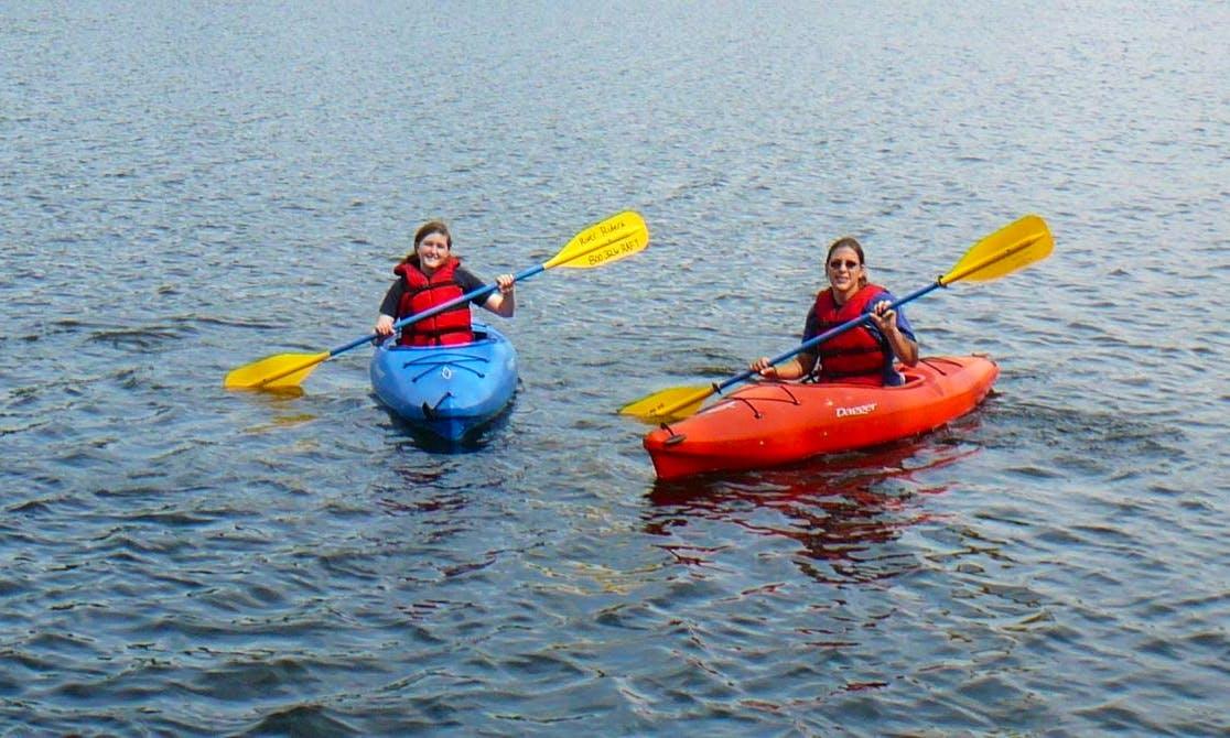 Single Kayak Rental & Trips in the Shenandoah River