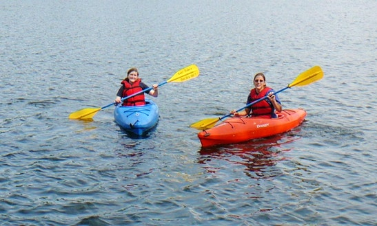 Single Kayak Rental & Trips In The Shenandoah River