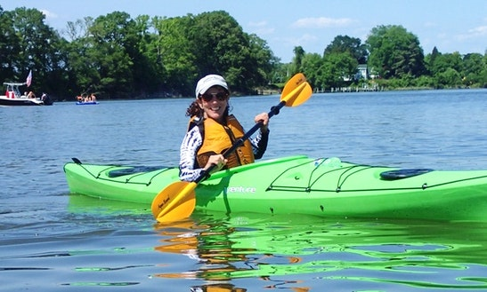 Single Kayak Rental & Guided Tours In Rock Hall