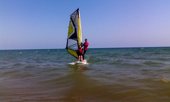 Learn Windsurfing In Ayamonte