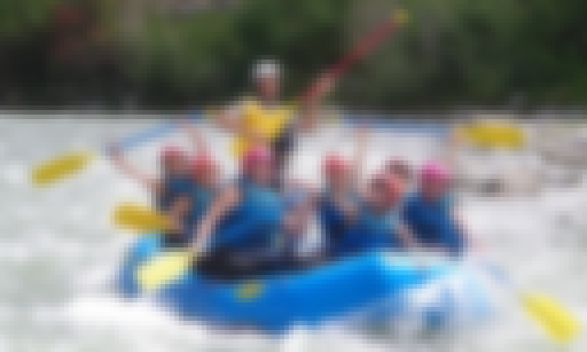 White Water River Rafting Trips in Campo