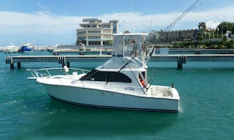 """Cofresi Fishing Charter On 34ft """"High Z's"""" Yacht With Captain Nelson"""