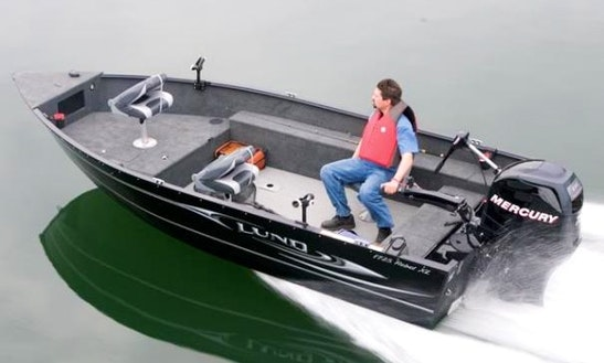 Rent Our 40 Hp Powered Fishing Boat In Voyageurs National Park - Lake Kabetogama, Mn