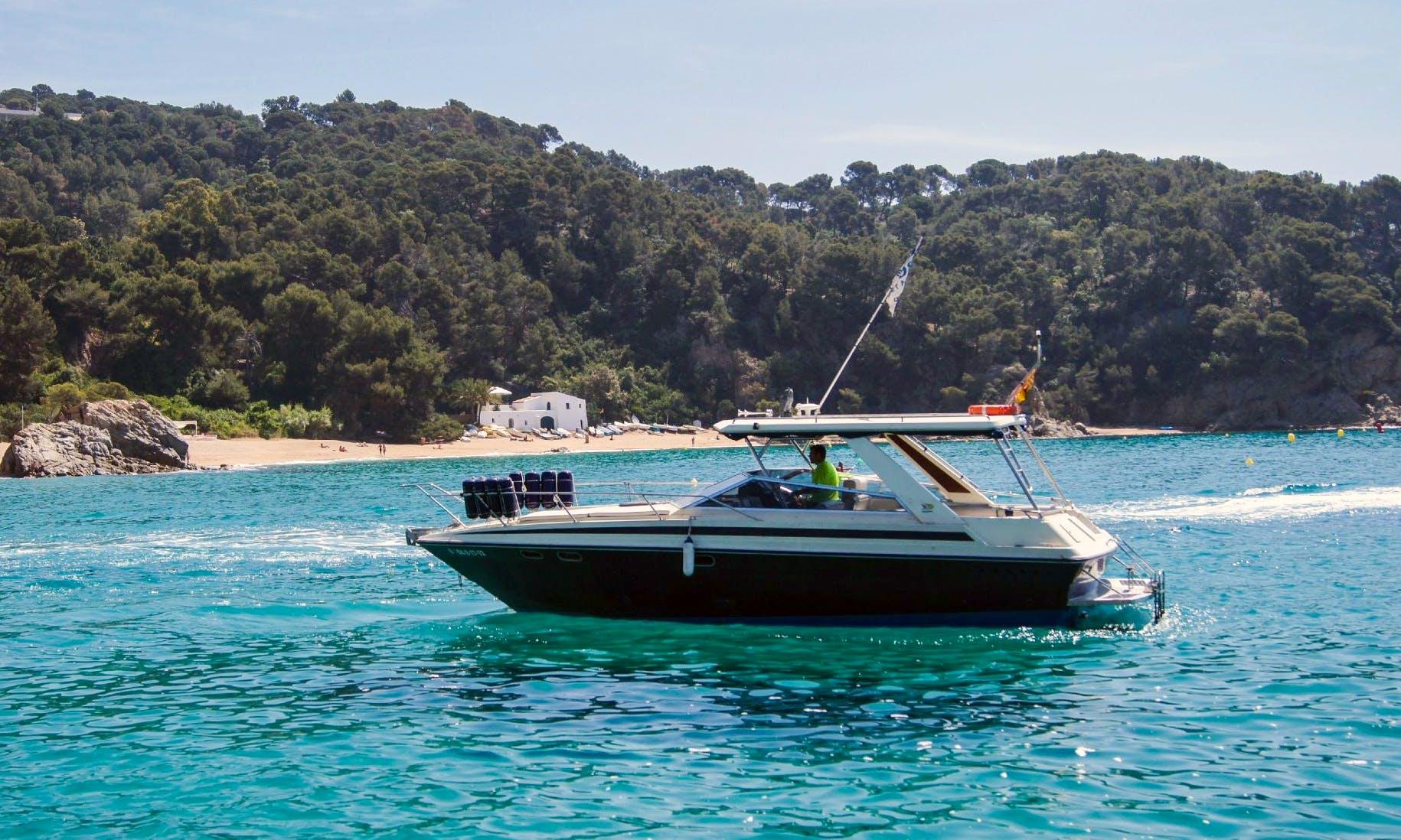 """Charter a 33ft """"Barquereña"""" Motor Yacht in Lloret de Mar, Spain"""