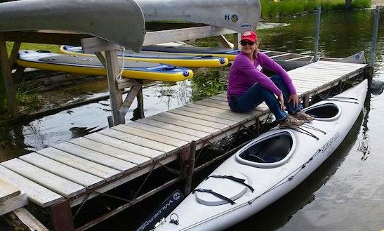 Tandem Kayak Rental In Voyageurs National Park - Lake Kabetogama, Mn