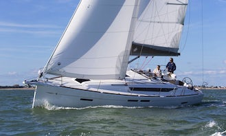 Charter the Sun Odyssey 419 Crusing Monohull From Palamós, Spain