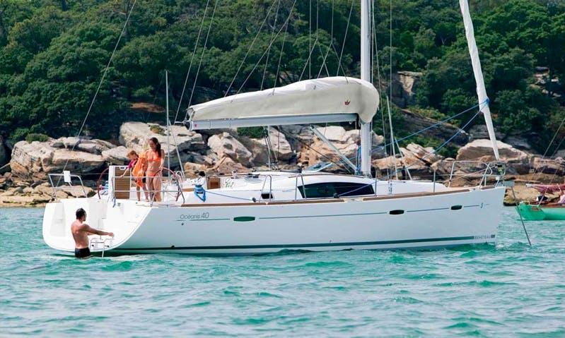 Charter the Beneteau Oceanis 40 Sailing Yacht In Palamós, Spain
