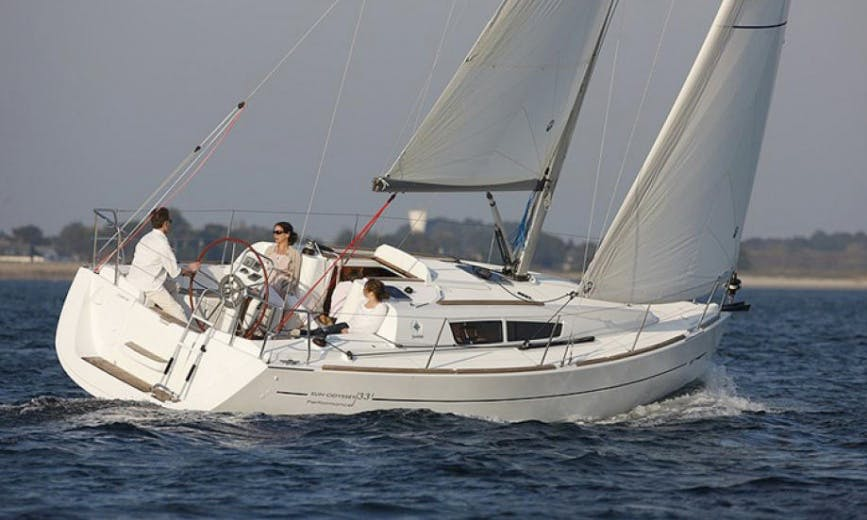Charter Sun Odyssey 33i Sailboat From Palamós, Spain