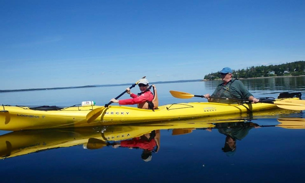 Double Sea Kayak Rental Training In Castine