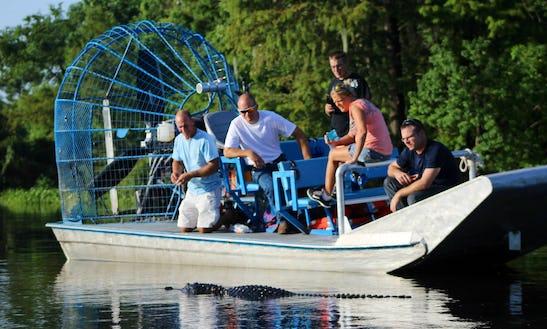 Best Airboat Swamp Wildlife Tours In Westwego, Louisiana