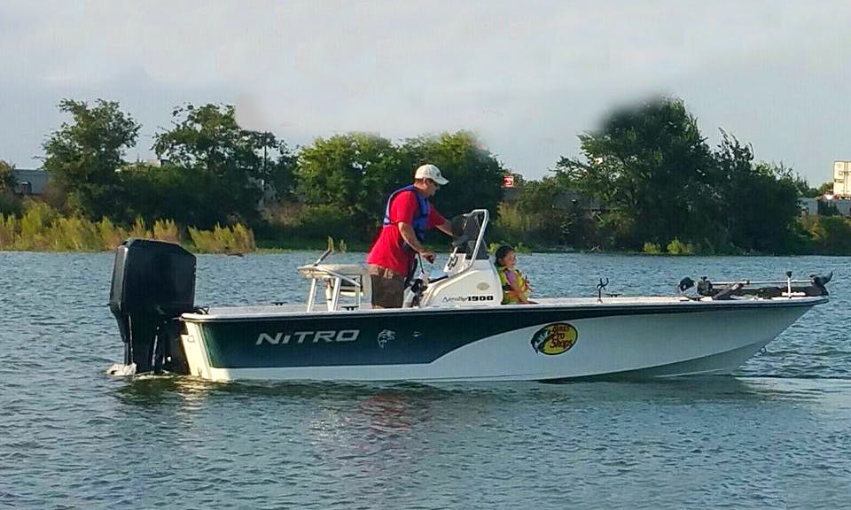 Guided Fishing Trip With Noel On 20ft Nitro Boat In Colony, Texas