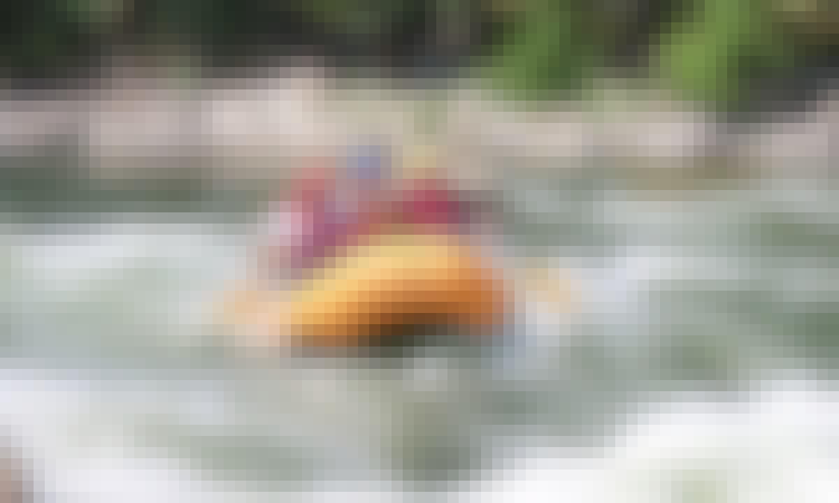 White Water Rafting in Vũng Tàu.