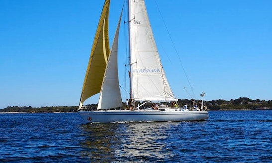 'albatros' Challenge 67 Monohull Crewed Charter In Lorient - Brittany - France