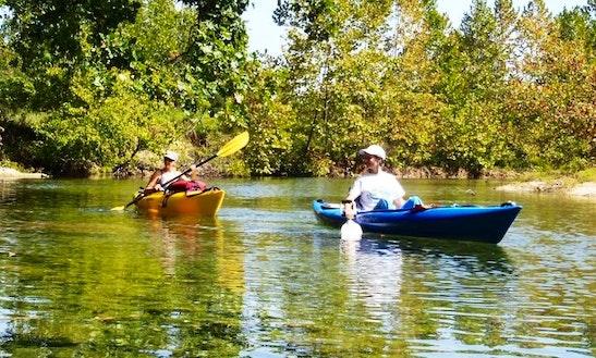 Single Kayak Rental & Trips In Cass Township