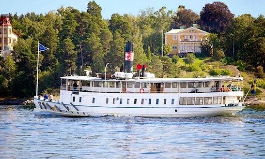 'm/s Östanå I' Archipelago Tours In Stockholm
