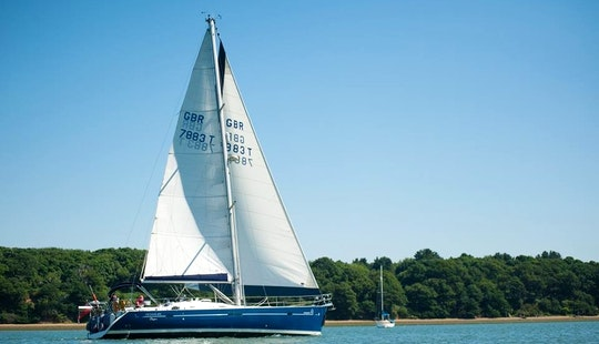 Luxury Sailing Yacht On The River Orwell