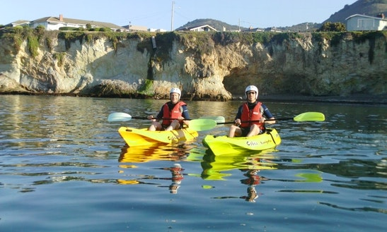 Single Kayak Rental & Tours In Pismo Beach