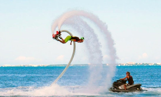 Flyboarding Flights In Cabourg