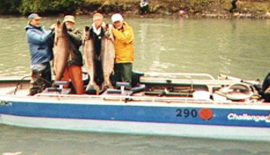 Salmon Fishing Trip For 4 Person In Soldotna, Alaska
