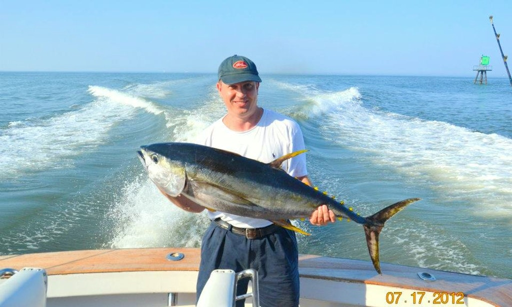 53ft sport fisherman boat charter in lewes delaware for Delaware fishing charters