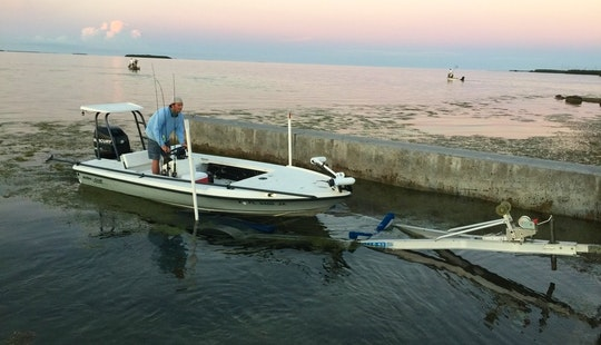 Fishing Charter On 17' Action Craft Center Console In Marathon, Florida