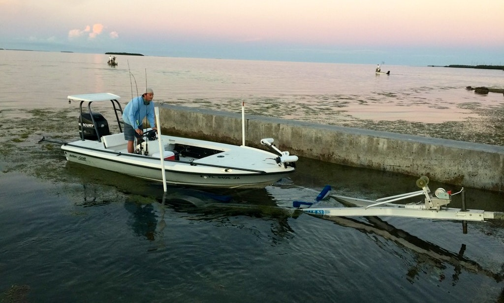 Fishing charter on 17 39 action craft center console in for Florida 3 day fishing license