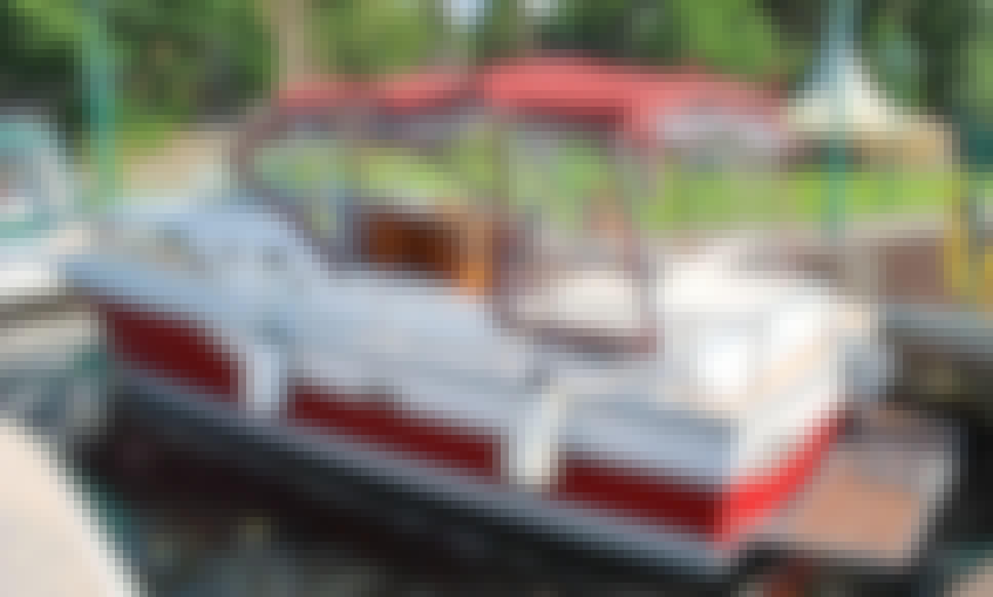 'Marsupilami' Motor Boat Hire in Hohen Neuendorf