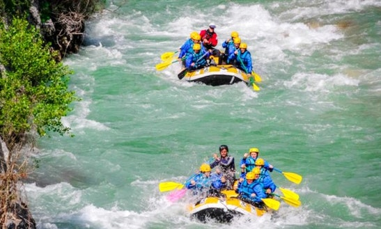 Rafting In La Palud-sur-verdon
