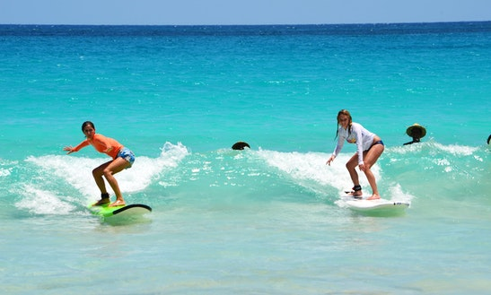 Surf Lessons & Rental In Punta Cana