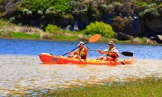 Double Sit-On-Top Kayak Hire in Margaret River, Australia