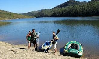 Canoe in Rio Preto