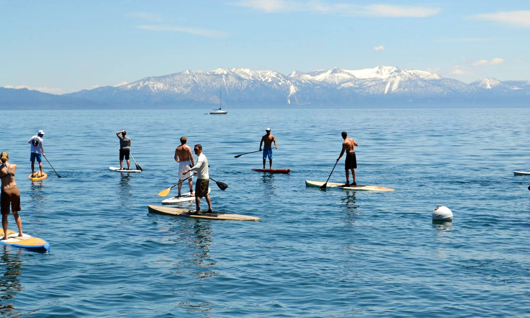 Stand Up Paddleboard Rental in Carnelian Bay