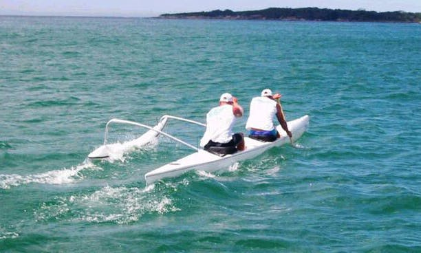 Double Outrigger Kayak Rental in Carnelian Bay