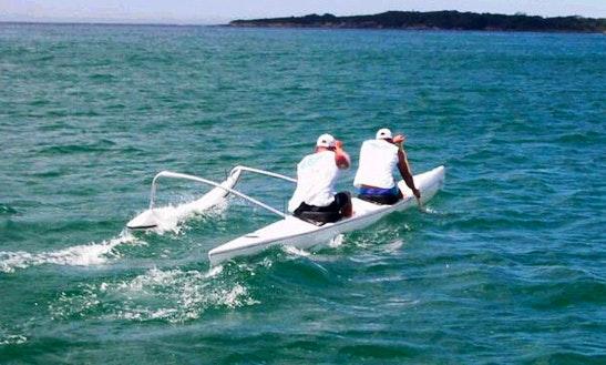 Double Outrigger Kayak Rental In Carnelian Bay