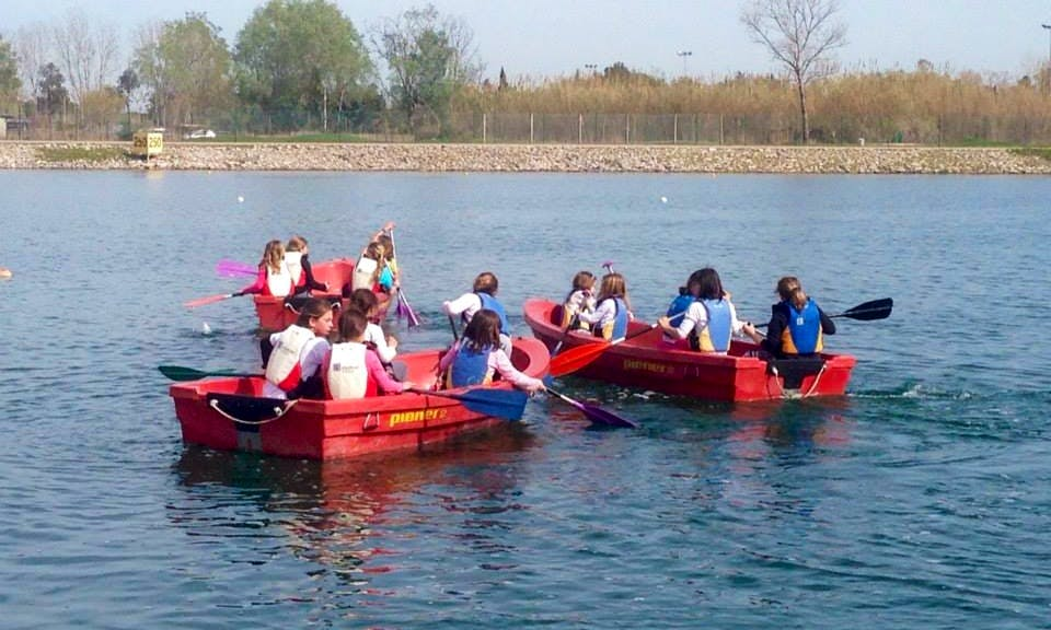 Paddle Boat Rides In Castelldefels
