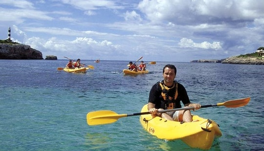 Explore Manacor, Spain On A Tandem Kayak