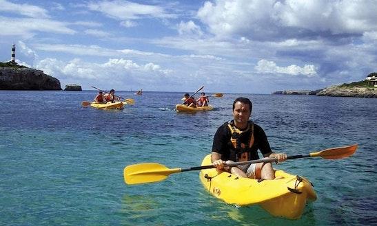Explore Manacor, Spain On A Tandem Kayak