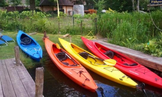 Hire Sunny Kayaks In Berlin