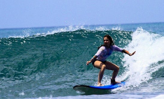 Surf Lessons In Kuta, Indonesia