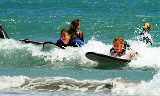 Surf Lessons in Cape Foulwind, New Zealand