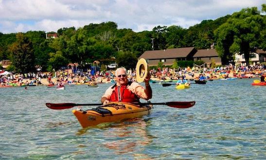 Single Kayak Rental In Park Township, Michigan