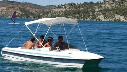 Rent The Lagon 45 Electric Boat In Esparron-de-verdon
