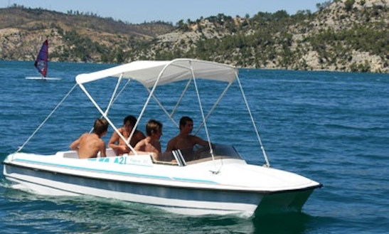 Rent The Lagon 45 Electric Boat In Esparron-de-verdon