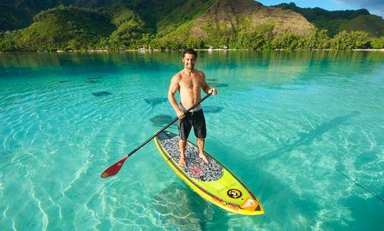 Paddleboard Rental & Lessons In Paopao, French Polynesia