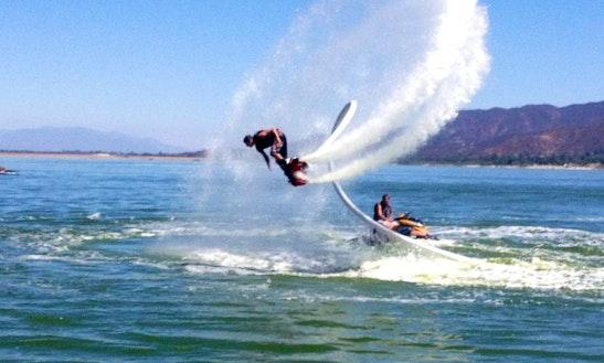 Flyboarding In Lake Elsinore