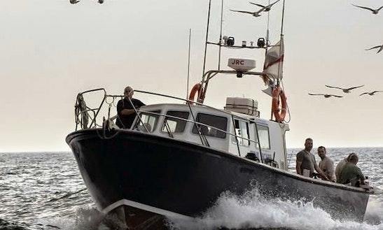 43' Aquastar Fishing Charter In Lymington